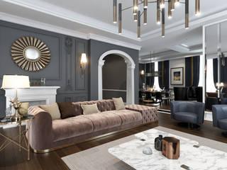 Salas / recibidores de estilo  por DECOFEMME İÇ MİMARLIK , Clásico