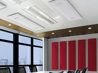Schallschutz für Büro: Moderne Schalldämmung von Graf.News:   von www.skydesign.news - Raumteiler aus Berlin - Sichtschutz Terrasse,