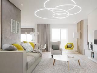 Living room by Дизайн - Центр