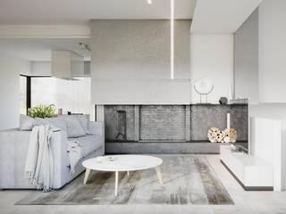 Wohnzimmer von Дизайн - Центр, Minimalistisch