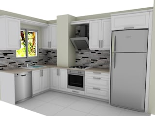 MOBILAC DESIGN – Müşterilere Özel Yaptığımız Mutfak Tasarımlarımız ve Uygulamaları: modern tarz , Modern