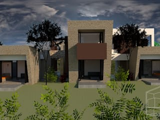 Modern houses by diseño con estilo ... sas Modern