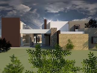 Moderne Häuser von diseño con estilo ... sas Modern