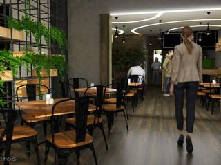 Modern dining room by GT-R Arquitectos Modern