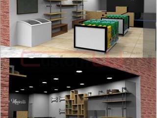 Diseño y Montaje - Interior- Comercial : Salones de conferencias de estilo  por CUSTOM WORK DISEÑO , Clásico