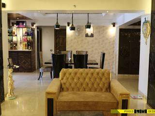 Chugh's Residence Modern dining room by Pixilo Design Modern