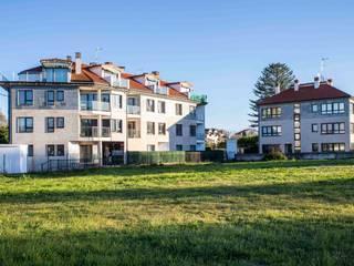 Trenta Casas Prefabricadas de Hormigón en Madrid Multi-Family house Concrete White