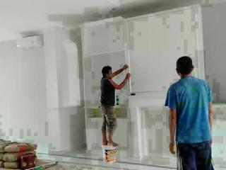 Pembuatan Kitchen Set :  Dapur built in by Harade  Interior