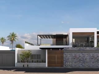 Casas modernas de RJ Arquitectos Moderno