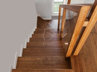 Roble Stairs Wood Brown