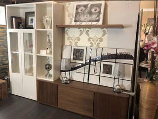 Muebles para el salón y dormitorio de alta gama en descuento:  de estilo  de MUEBLES GATON VALLE, amueblamiento de espacios en Palencia  hacemos que los ambientes que den acogedores con encanto y un estilo diferente