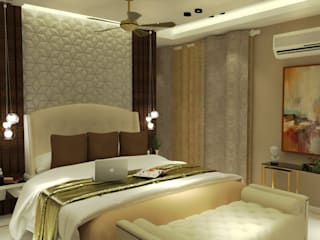 Modern style bedroom by Inaraa Designs Modern