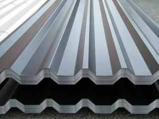 Виды скатных крыш из оцинкованной стали:  в . Автор – ПК Союз