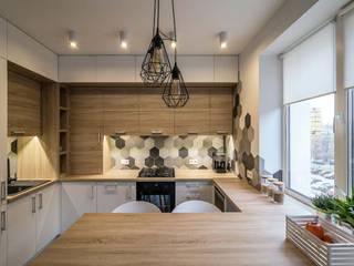 Дизайн квартиры в стиле лофт в Днепре Кухня в стиле лофт от VAKULENKODESIGN Лофт