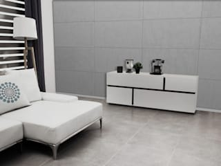 Loft Design System Deutschland - Wandpaneele aus Bayern Modern walls & floors Concrete Grey