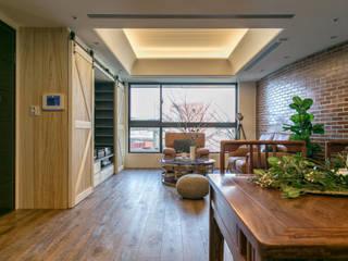懷舊復古風-看見不一樣的風格與靈魂-全坤峰華 根據 富亞室內裝修設計工程有限公司 隨意取材風