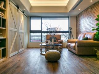 懷舊復古風-看見不一樣的風格與靈魂-全坤峰華 根據 富亞室內裝修設計工程有限公司 工業風