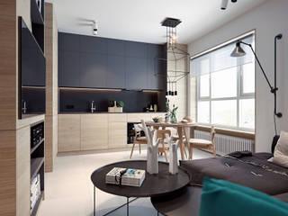 Cocinas de estilo  por Elena Demkina Design, Minimalista