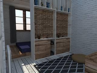 Aménagement chambre par World Vibes Concept Colonial