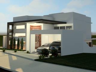 CASA M.B: Casas  por Isa De La Volpe • Arquitetura • Interiores • Construção