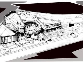 Крылатское. Эскиз международной школы: Школы и учебные заведения  в . Автор – BCG Architects