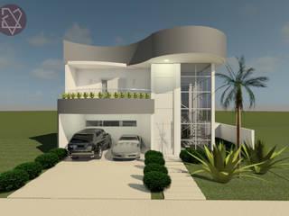 CASA J.V: Casas  por Isa De La Volpe • Arquitetura • Interiores • Construção