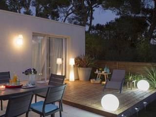 Casa habitación Jardines modernos de Punto D Moderno