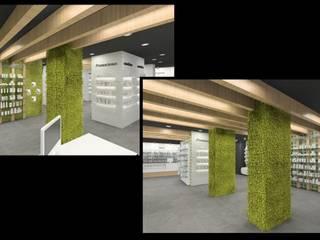 Tienda Naturista y Dermatología Espacios comerciales de estilo moderno de Punto D Moderno