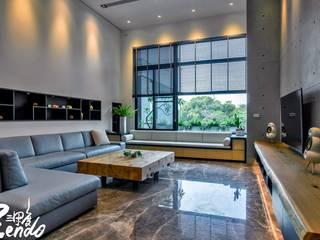 Salas de estilo minimalista de Zendo 深度空間設計 Minimalista