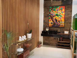 Vista Valley Residence:  Living room by Geraldine Oliva