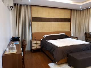 Vista Valley Residence:  Bedroom by Geraldine Oliva