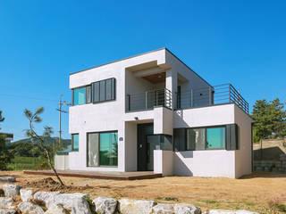 [경기 안성] 꾸밈없는 매력을 표현한 집 by 한글주택(주) 모던