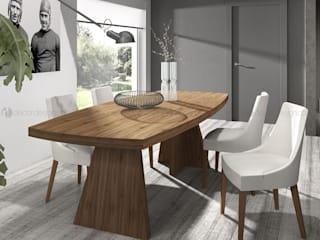 Decordesign Interiores ComedorMesas Aglomerado Acabado en madera