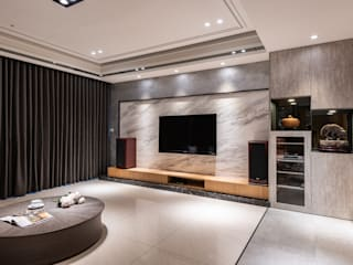 Modern Living Room by 珍品空間設計 | JP SPACE DESIGN STUDIO Modern