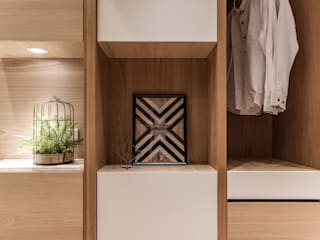 Chambre moderne par 珍品空間設計 | JP SPACE DESIGN STUDIO Moderne