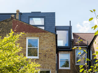 Brockley Extension and Conversion Urbanist Architecture Terrace house Bricks Black