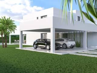 Renders Arquitectura para Vivienda Unifamiliar en Valencia de Proyecto 3D Valencia Renders Animaciones 3D Infografias Online Minimalista