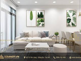 Thiết kế nội thất chung cư hiện đại An Bình City – Anh Duyên bởi Thiết kế - Nội thất - Dominer