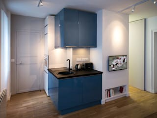 Built-in kitchens by Fables de murs, Modern