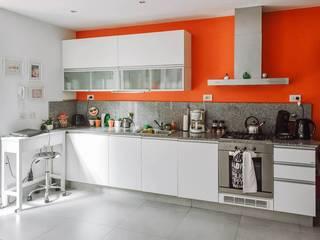 Reforma Casa NI Cocinas modernas: Ideas, imágenes y decoración de ERA - Estudio Rosarino de Arquitectura Moderno