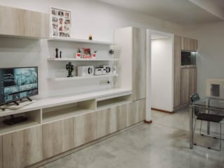 Reforma Casa JN Livings modernos: Ideas, imágenes y decoración de ERA - Estudio Rosarino de Arquitectura Moderno