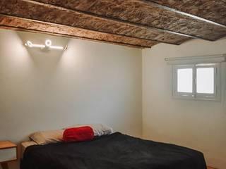 Reforma Casa EF Dormitorios minimalistas de ERA - Estudio Rosarino de Arquitectura Minimalista