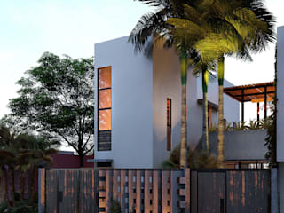 Small houses by Indigo Diseño y Arquitectura, Tropical