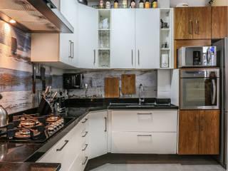Copacabana - Rio de Janeiro Erica Saraiva Design de Interiores Cozinhas rústicas