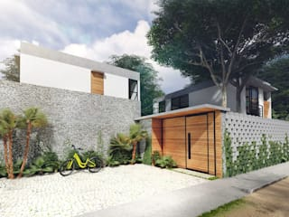 Houses by Indigo Diseño y Arquitectura, Tropical