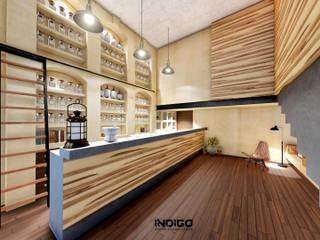 Study/office by Indigo Diseño y Arquitectura, Tropical