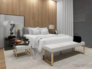 Apartamento B l K por Thaissa Maziero - Interior l Design