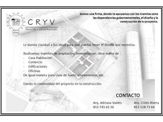 Nuestros Servicios de CRYV Proyectos y Construccion Moderno