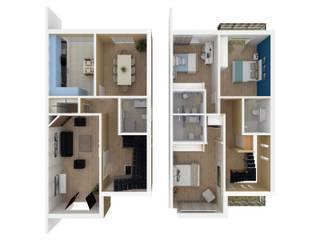 Portifólio: Casas  por Brise - Arquitetura e Construção,