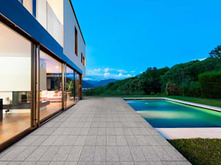 Losetas arquitectónica de concreto para albercas y exteriores de Graylawn Moderno